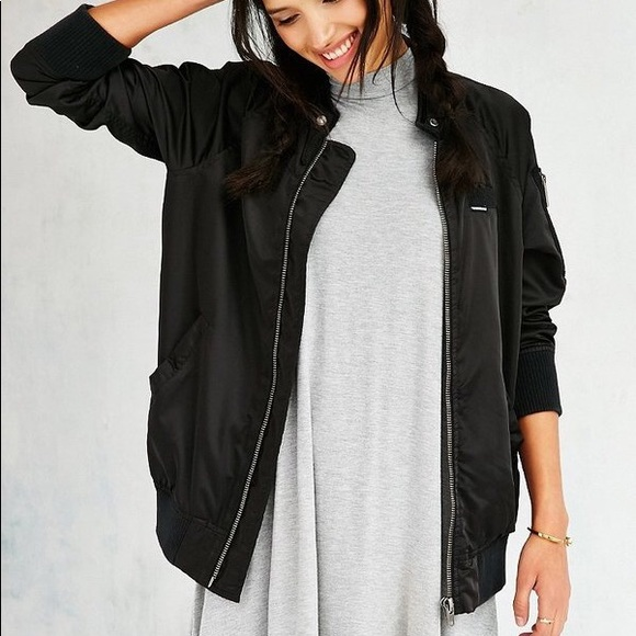 Urban Outfitters Jackets & Blazers - Members Only Satin Bomber Jacket